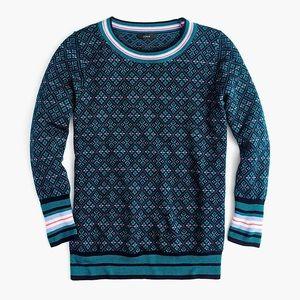 J. Crew Merino Wool Crew Neck Sweater XL